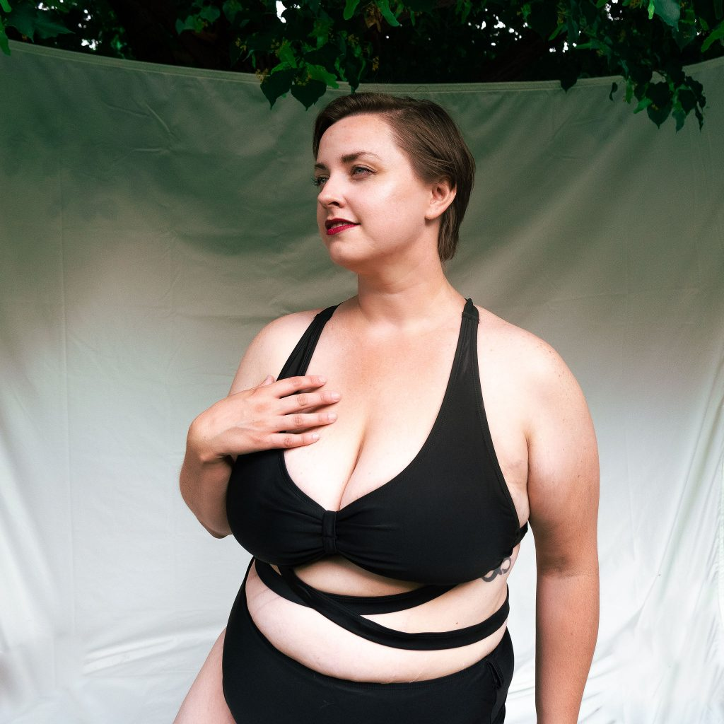 Review of plus size swimsuits sizing plus size fashion blog in Utah