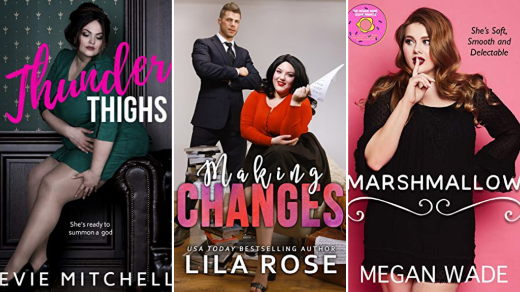 plus size romance novel covers
