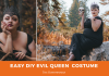 Easy DIY Evil Queen Halloween Costume