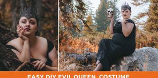 Easy DIY Evil Queen Halloween Costume