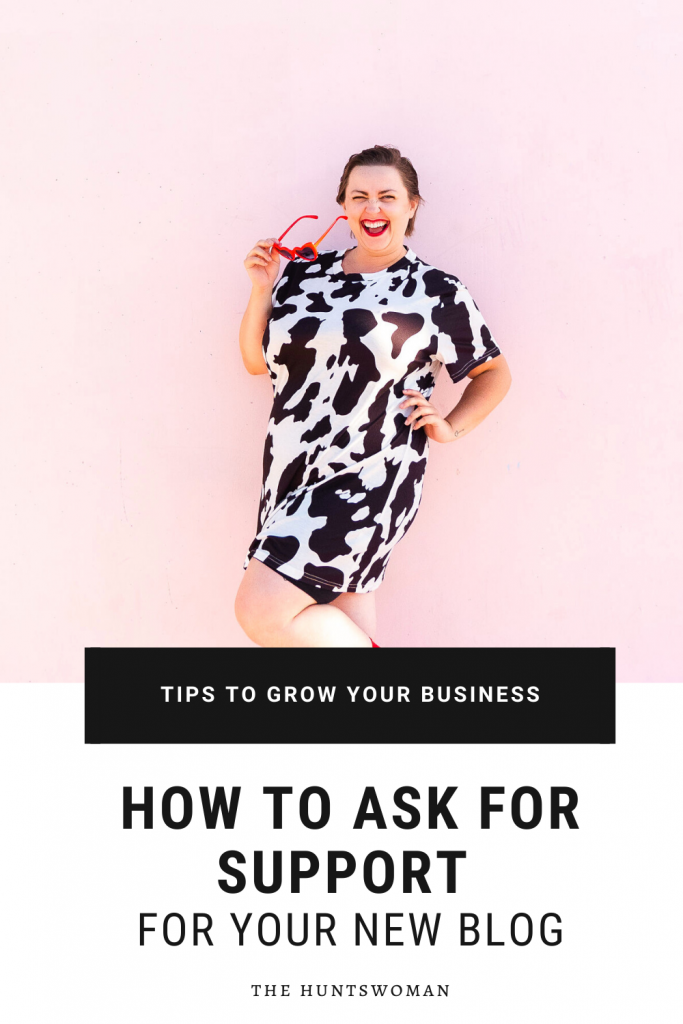 Feel like your friends and family aren't supporting your new business? Here are some tips and scripts for you to use to ask for the support you need!
