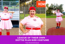League of Their Own - Dottie Plus Size Costume