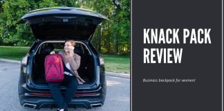 Review of the Knack Pack Business Backpack for Women