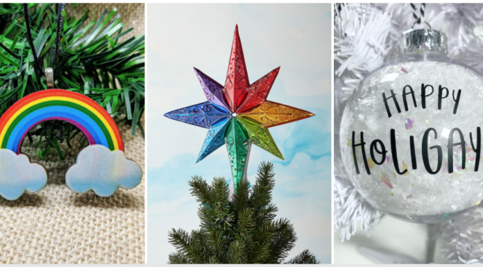 fun LGBT Pride Christmas Tree Ornaments - Shopping Guide