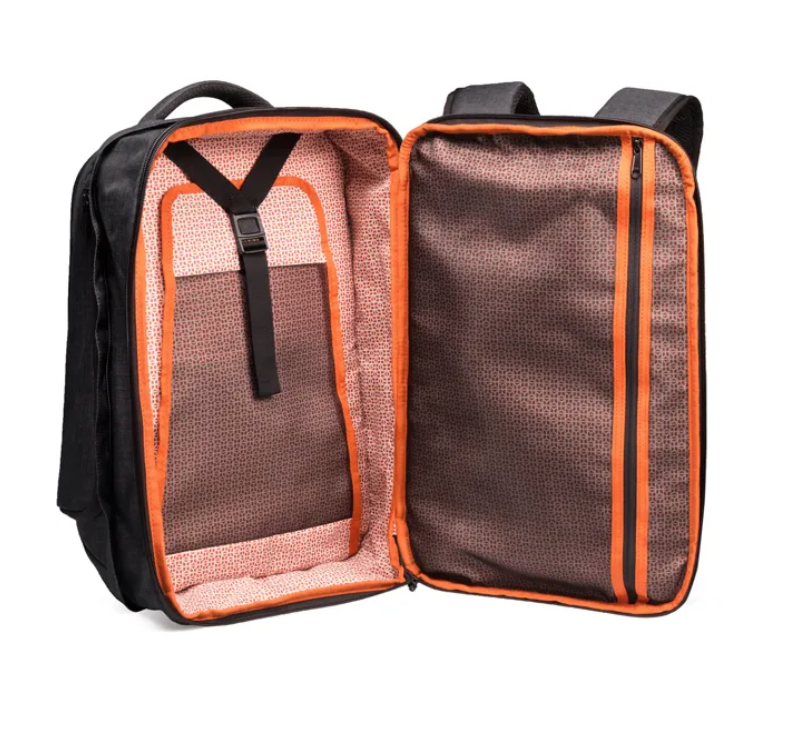 review of expandable laptop backpack for women