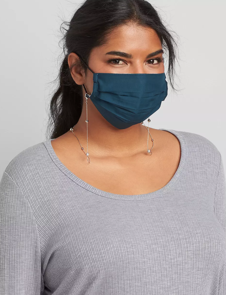 trendy plus size face mask from Lane Bryant