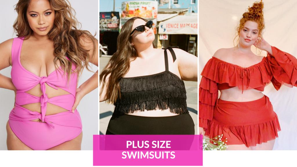 trendy plus size swimsuits