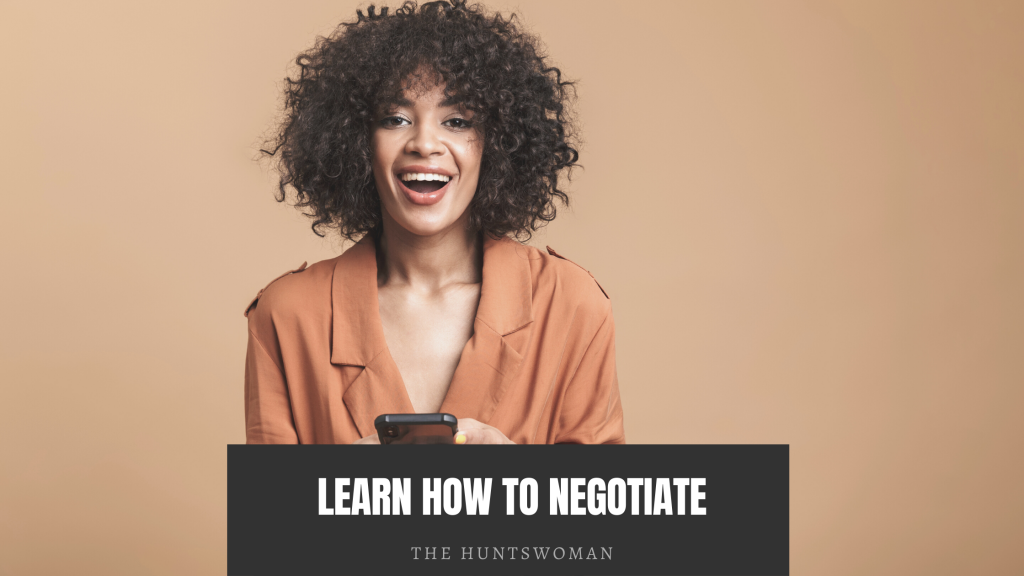 learn how to negotiate to  on make more money
