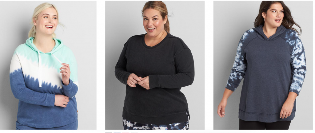 Plus size hoodies in 6x from Lane Bryant