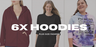 Where to Buy Plus Size 6X hoodies