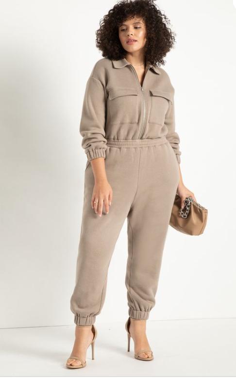 plus size butch clothing - jumpsuit