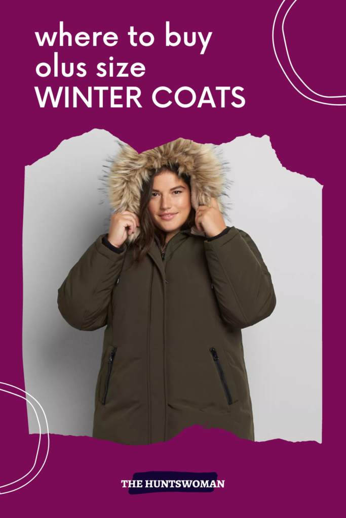 where to shop for plus size coats