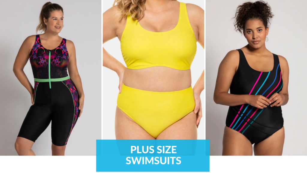 plus size swimsuits. - where to shop graphic