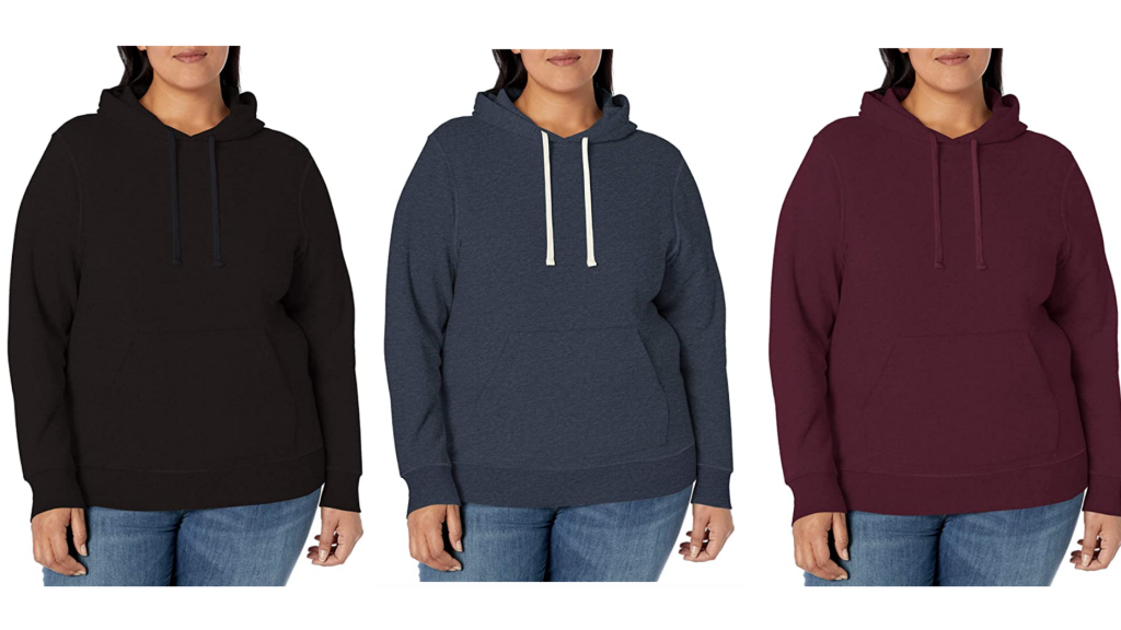 Plus size hoodies in 6x from Amazon