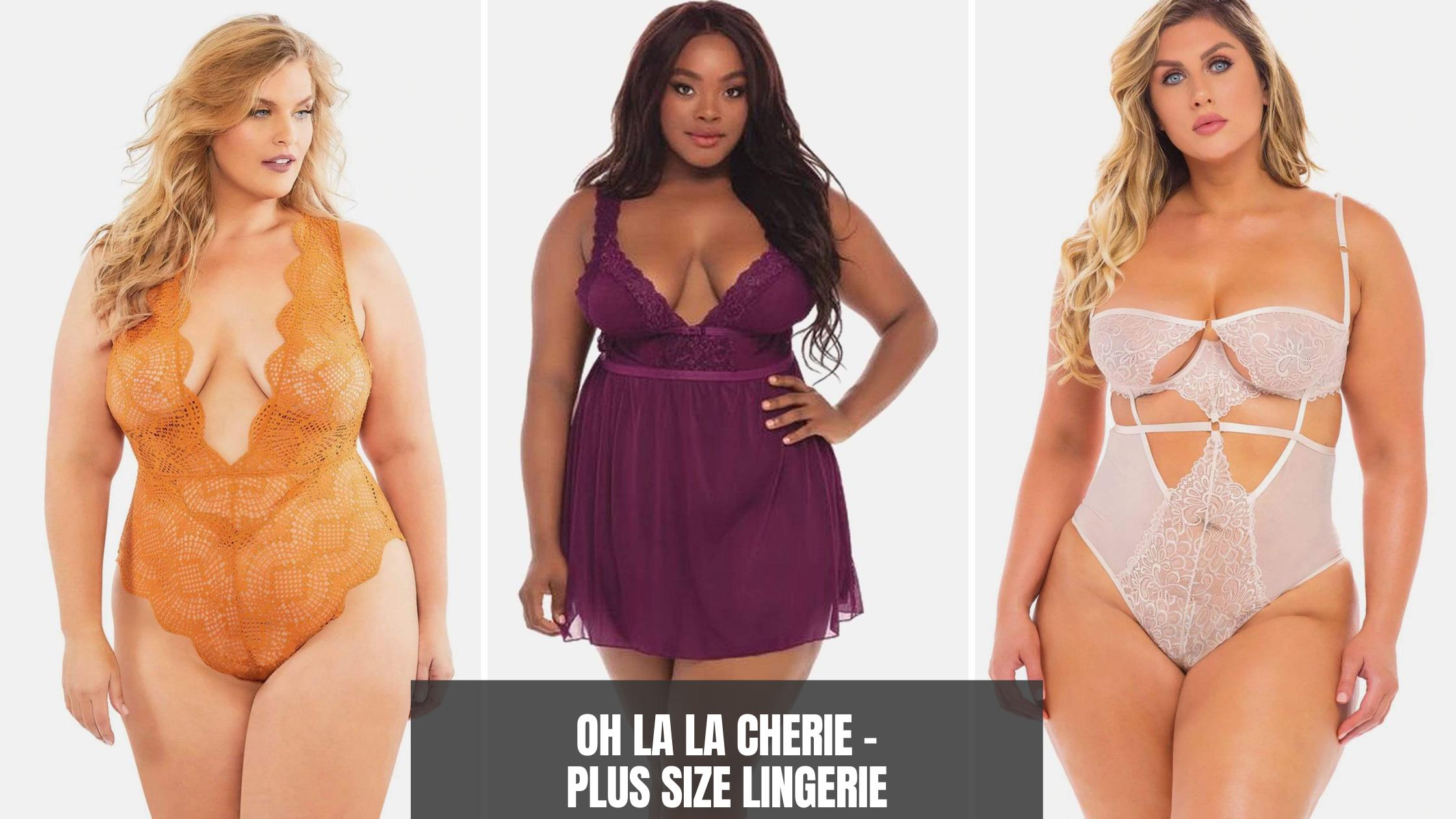 where to buy plus size lingerie - Oh la la cherie