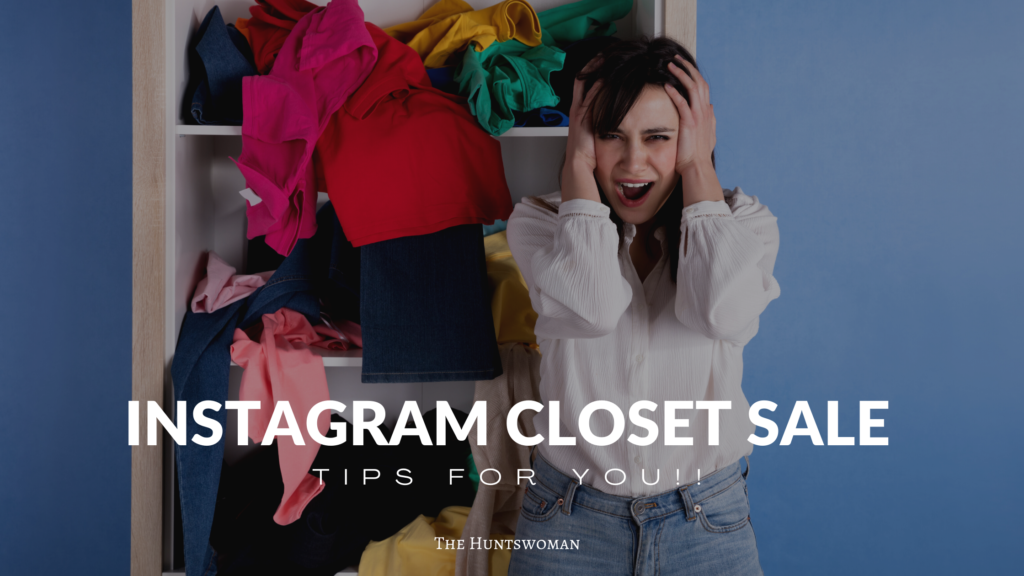 How to Sell Your Clothes on Instagram