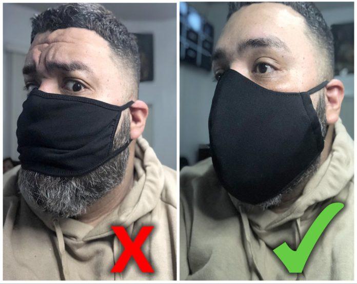 XL Fabric Face Masks for Men