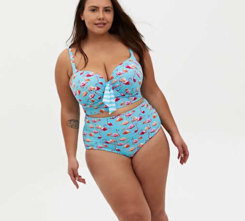 Plus Size Swimsuit for Big Belly