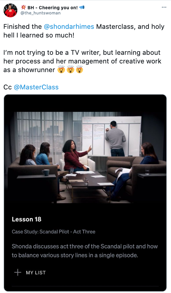 MasterClass Review