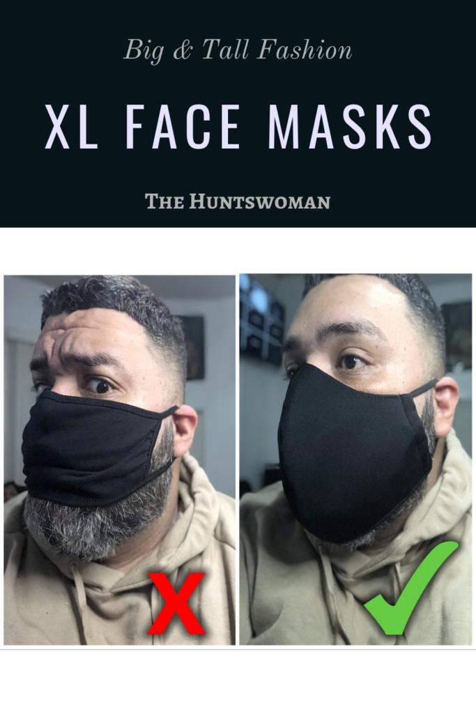 XL Face Mask for Men