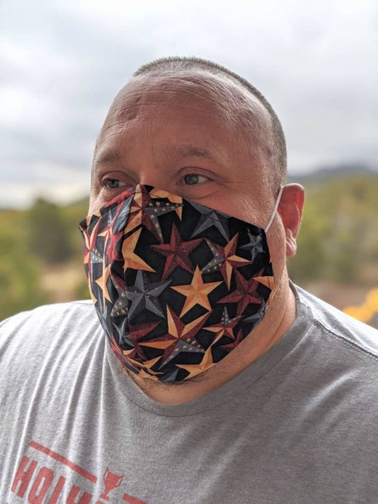 XL face mask for men with big head