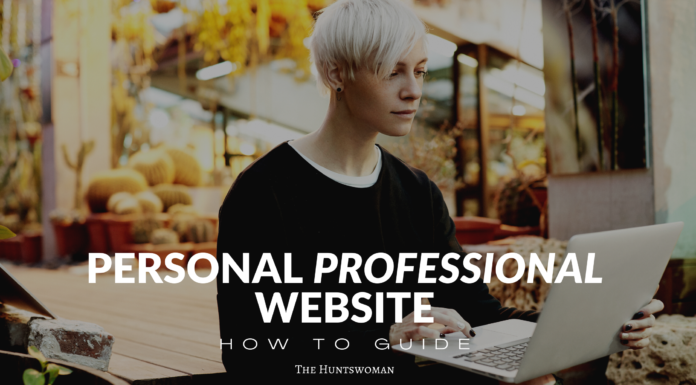 personal profesional website