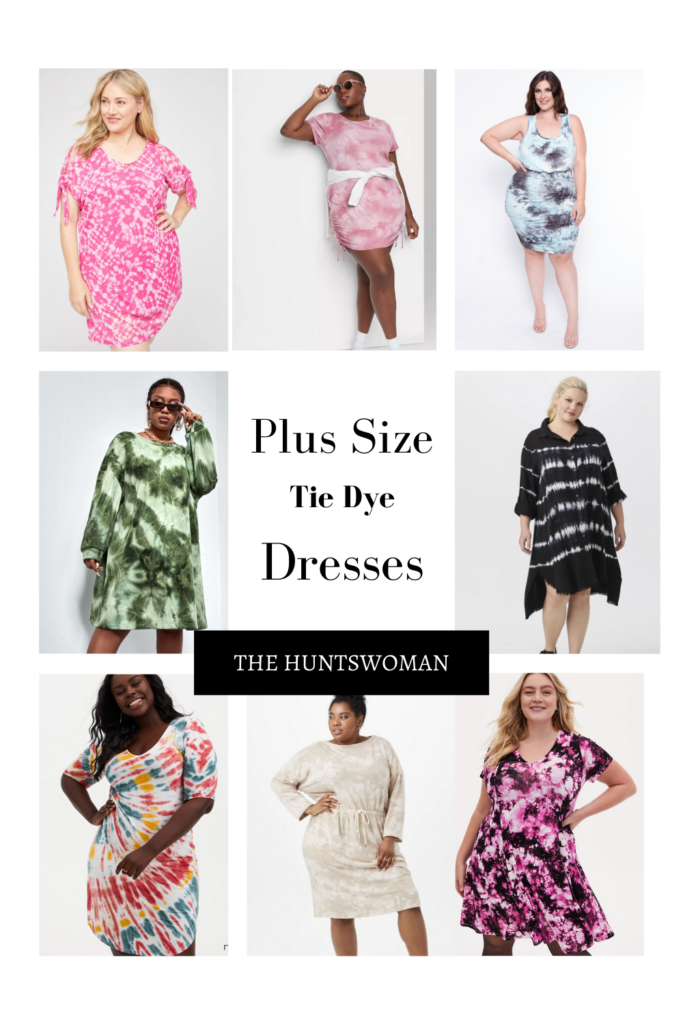 Plus Size Tie Dye Dress | Guide on Where to Shop