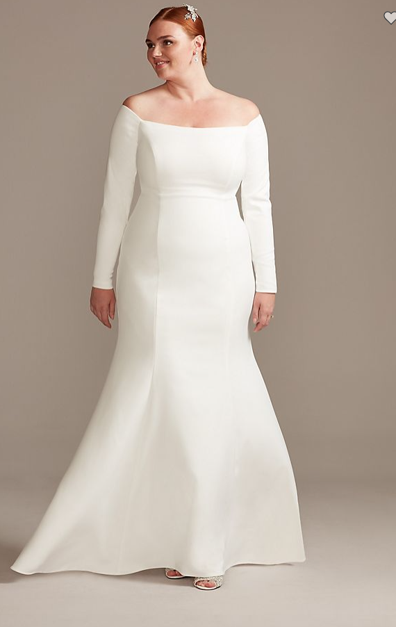 plus size wedding dresses with sleeves