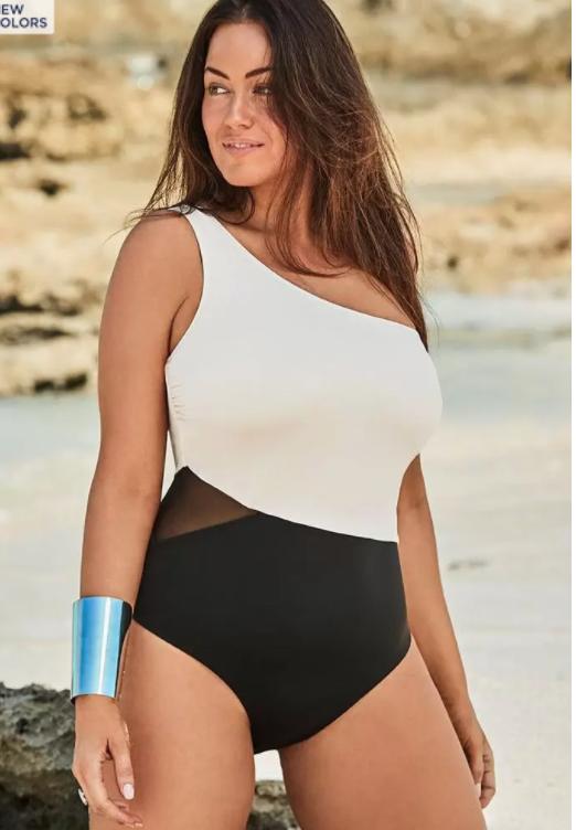 Plus Size One Piece Bathing Suit