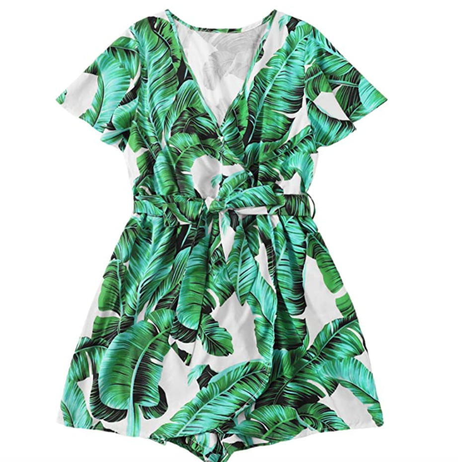 Plus Size Summer Rompers