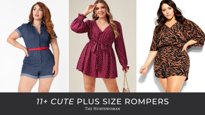 plus size rompers summer 2021