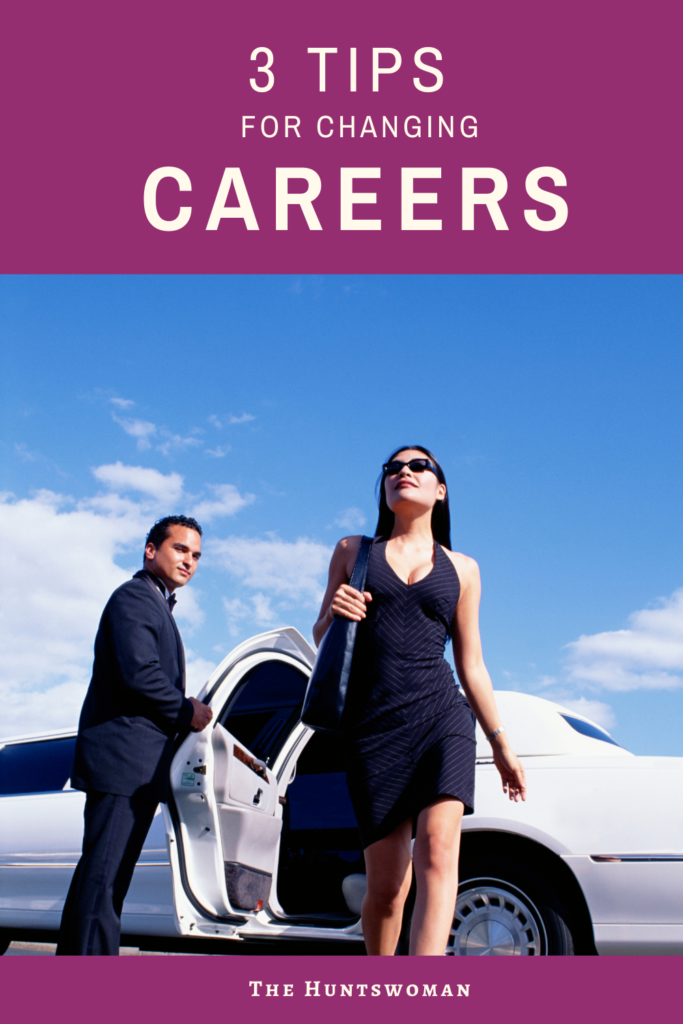 Career Change in your 30'