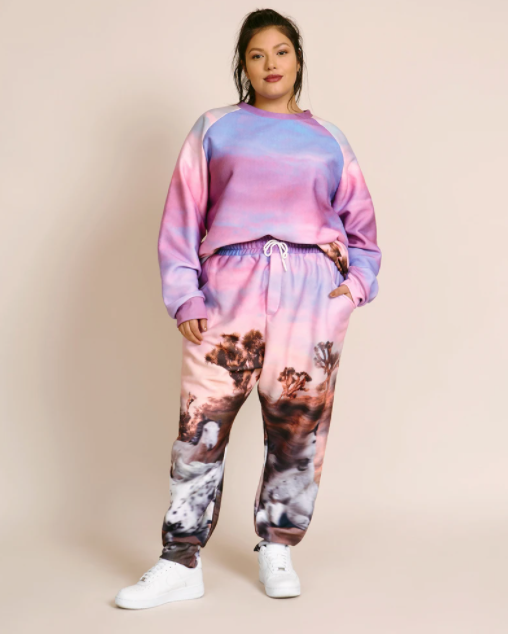 sweatsuit set Plus Size Airport Outfits high end designer