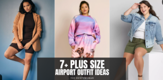 plus size airport outfit ideas