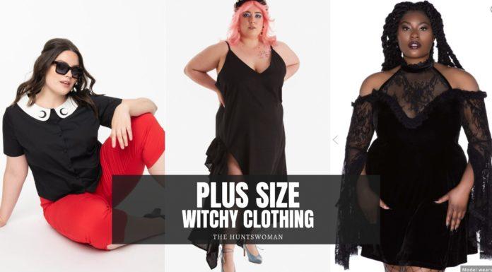 plus size witchy clothing