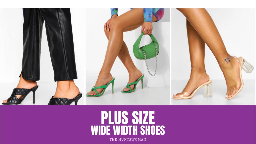 Plus Size Heels for Wide Feet