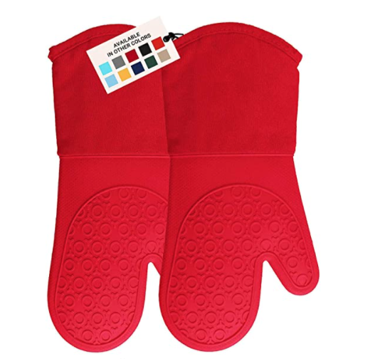 New Apartment Checklist -  Silicon Oven Mitts Dish Towels