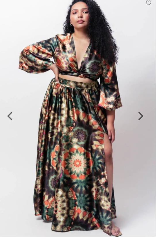 Plus Size Festival Outfit