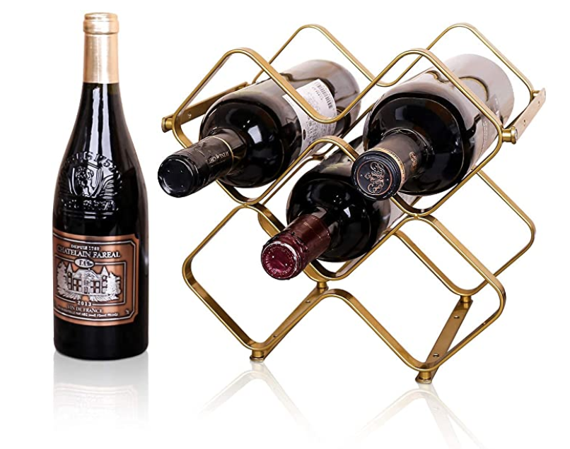 New Apartment Checklist - Counter Wine Holder