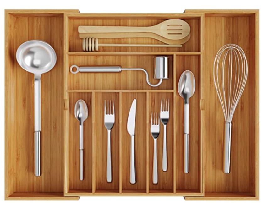 New Apartment Checklist: Flatware Organizer