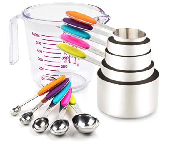 New Apartment Checklist - Measuring Cups