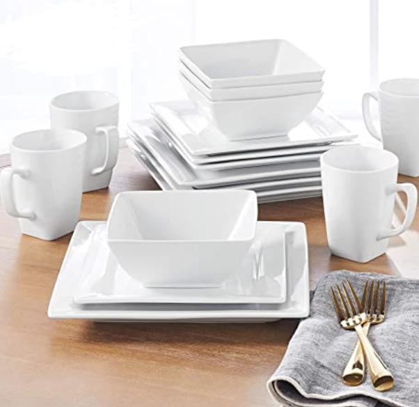 New Apartment Checklist - Dinnerware Plates