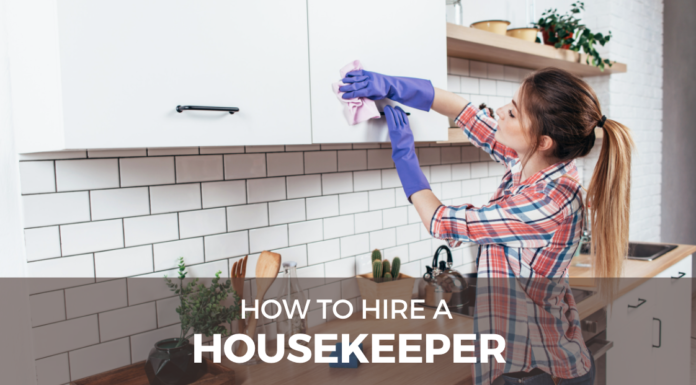how to hire a housekeeper