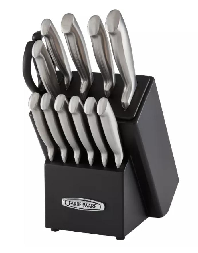 New Apartment Checklist: Knife Block Set
