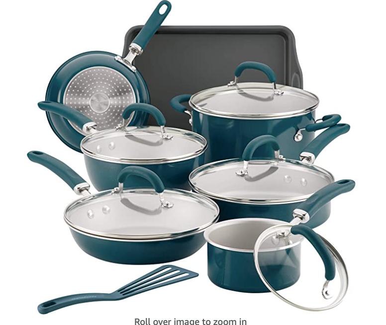 New Apartment Checklist - Kitchen Cookware Set