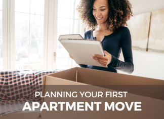 planning your first apartment move