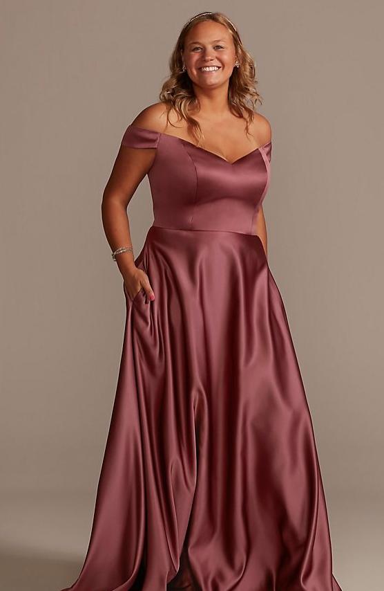 Plus Size Bridesmaids Dress