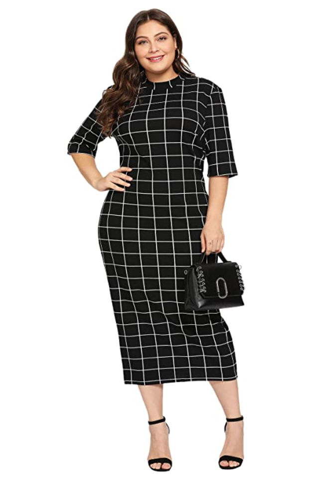 plus size business casual outfit dress from amazon