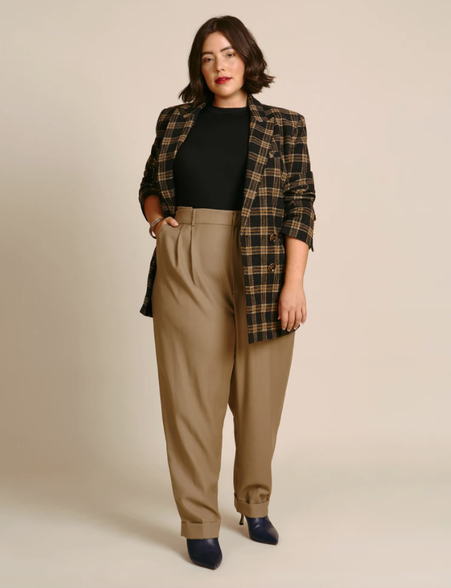 plus size business casual outfit idea