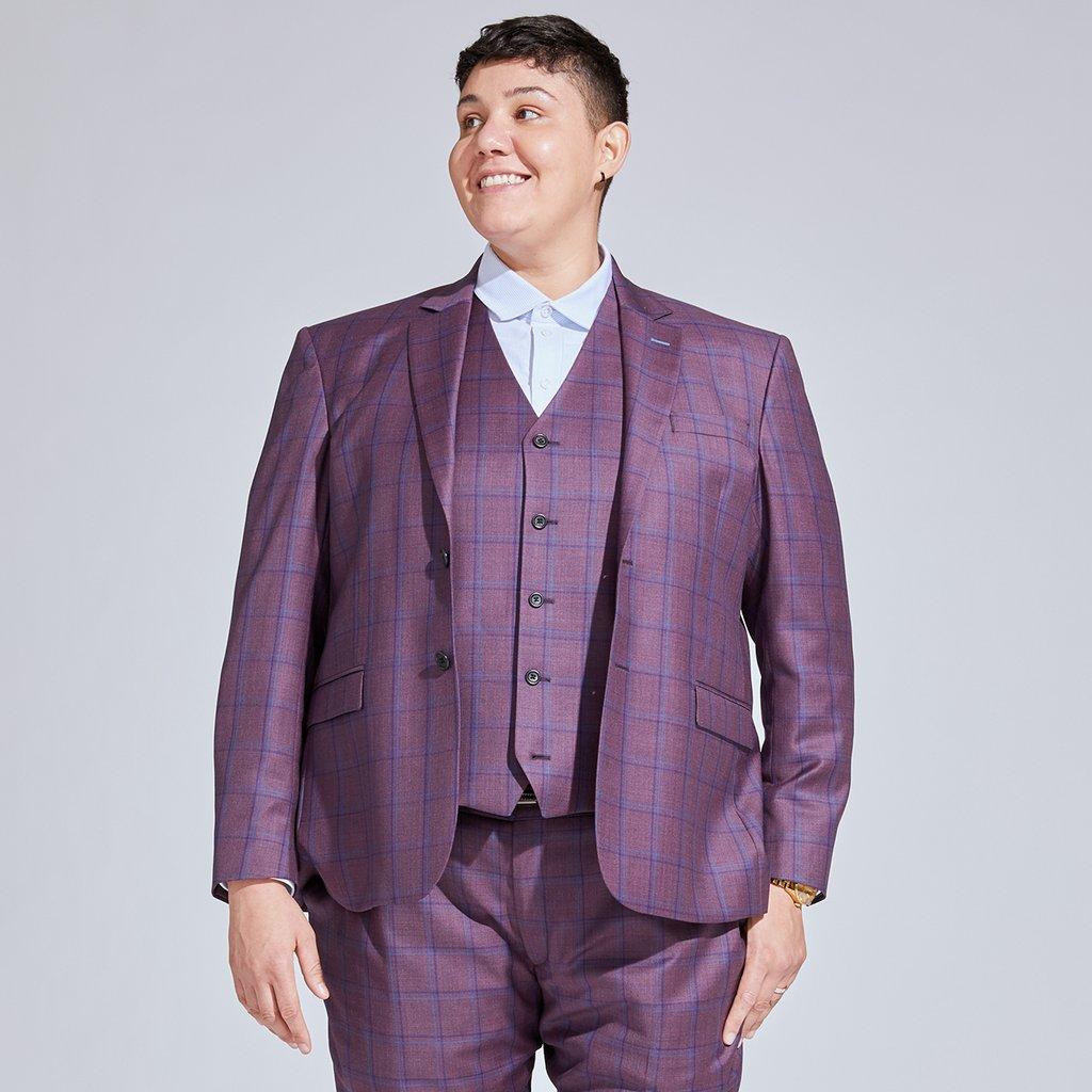 plus size butch suit